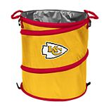 Logo Brand Kansas City Chiefs Collapsible 3-in-1 Trashcan Cooler