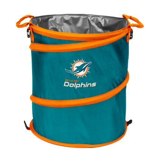 Logo Brand Miami Dolphins Collapsible 3-in-1 Trashcan Cooler