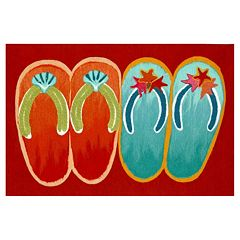 Liora Manne Visions IV Flip Flop Doormat - 20'' x 29 1/2''