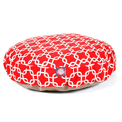 Majestic Pet Links Round Pet Bed - 30'' x 30''