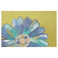 Trans Ocean Imports Liora Manne Visions IV Daisy Doormat - 20'' x 29 1/2''
