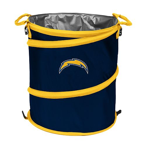 Logo Brand San DiegoChargers Collapsible 3-in-1 Trashcan Cooler