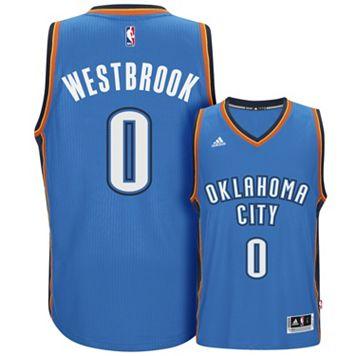 Men's adidas Oklahoma City Thunder Russell Westbrook Swingman NBA Replica Jersey