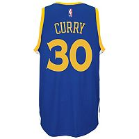 adidas Golden State Warriors Stephen Curry Swingman NBA Replica Jersey - Men