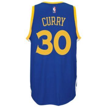 adidas Golden State Warriors Stephen Curry Swingman NBA Replica Jersey - Men