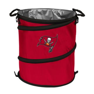 Logo Brand Tampa Bay Buccaneers Collapsible 3-in-1 Trashcan Cooler