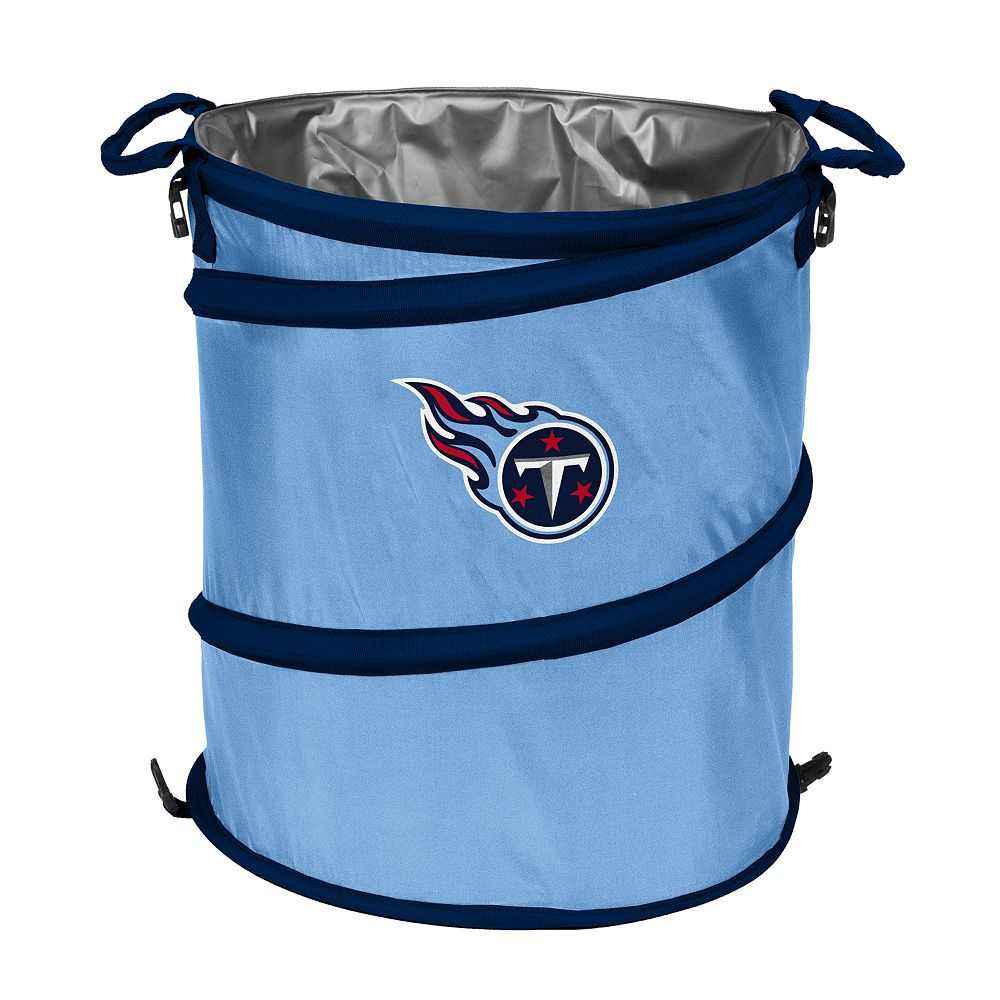 Logo Brand Tennessee Titans Collapsible 3-in-1 Trashcan Cooler