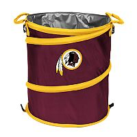 Logo Brand Washington Redskins Collapsible 3-in-1 Trashcan Cooler