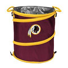 Logo Brand Washington Redskins Collapsible 3-in-1 Trashcan Cooler
