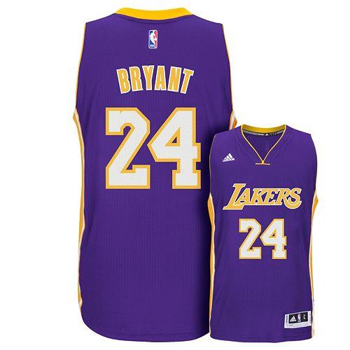 adidas Los Angeles Lakers Kobe Bryant Swingman NBA Replica Jersey - Men 64967c562