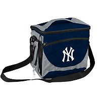 Logo Brand New York Yankees 24-Can Cooler