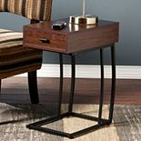 Southern Enterprises Bryson Powered Side Table