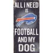 Buffalo Bills Football and My Dog Sign