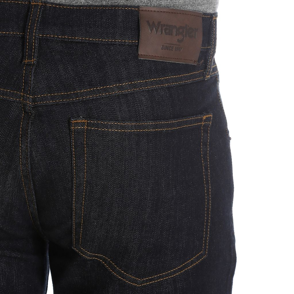 Men's Wrangler Straight-Fit Jeans