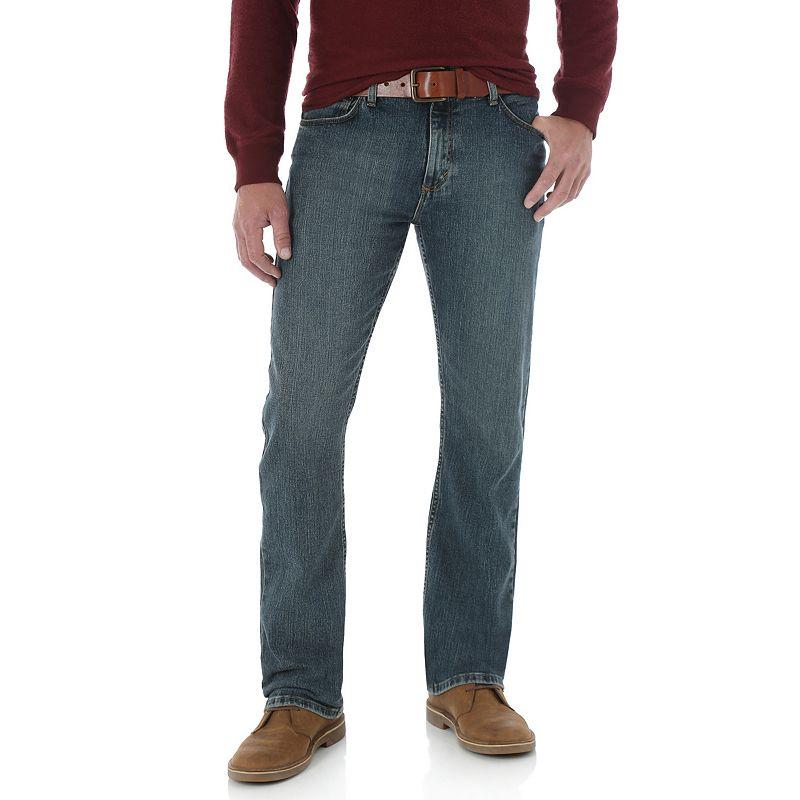 Men's Wrangler Straight-Fit Jeans, Size: 36X29, Blue