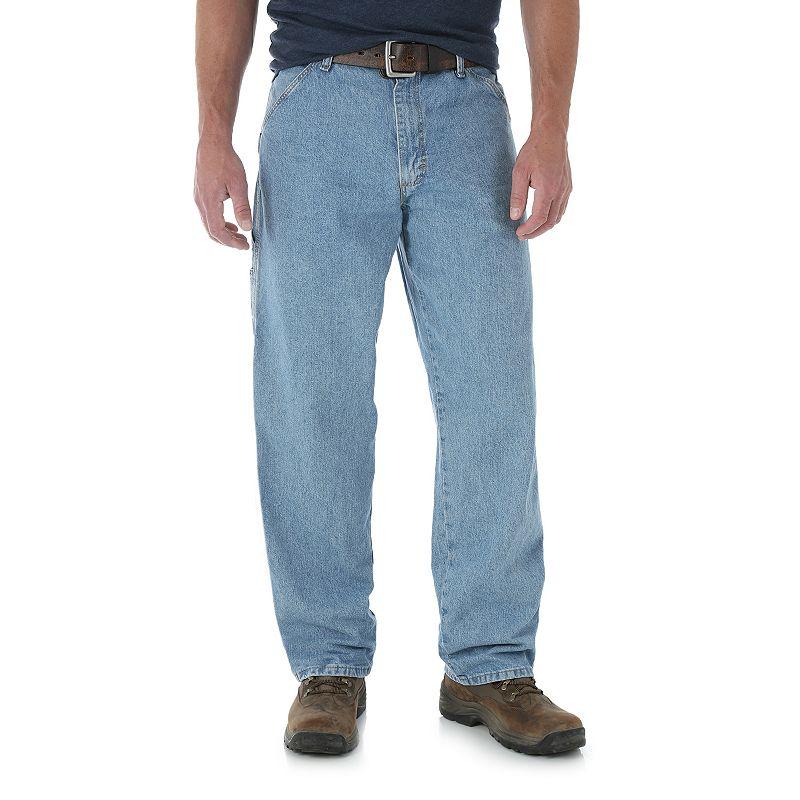 Men's Wrangler Carpenter Jeans, Size: 36X32, Blue