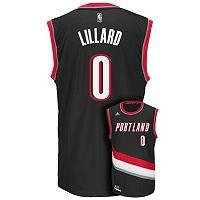 Men's adidas Portland Trail Blazers Damian Lillard Replica Jersey