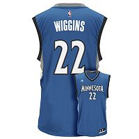 Men's adidas Minnesota Timberwolves Andrew Wiggins NBA Replica Jersey