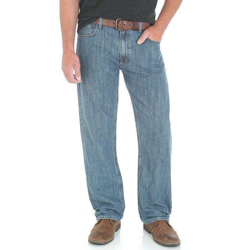 Men's Wrangler Loose-Fit Jeans, Size: 34X30, Blue