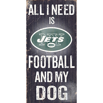 New York Jets Football and My Dog Sign
