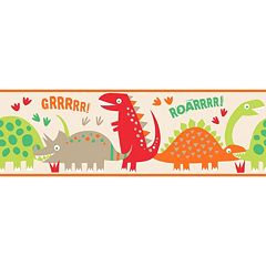 Dino Peel & Stick Wall Decal Border
