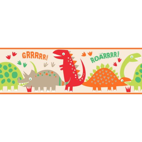 Dino Peel and Stick Wall Decal Border