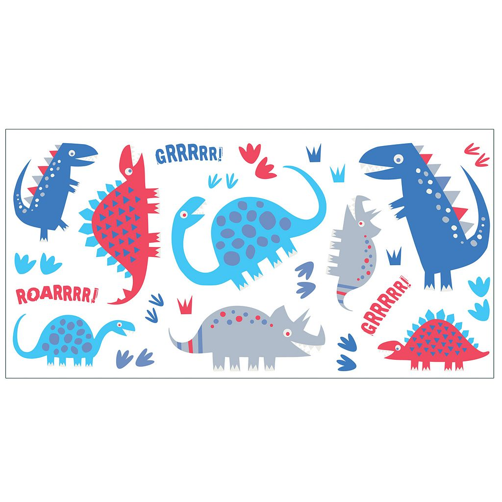 Dino Peel & Stick Wall Decals