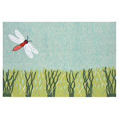 Liora Manne Visions IV Dragonfly Doormat - 20'' x 29 1/2''