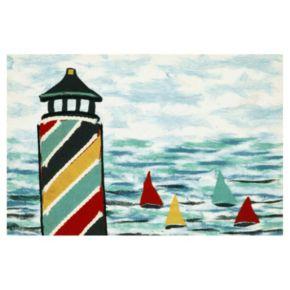 Liora Manne Visions IV Lighthouse Doormat - 20'' x 29 1/2''