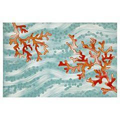 Liora Manne Visions IV Coral Wave Doormat - 20'' x 29 1/2''