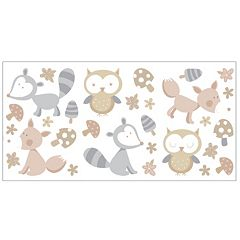 Forest Friends Peel & Stick Wall Decals