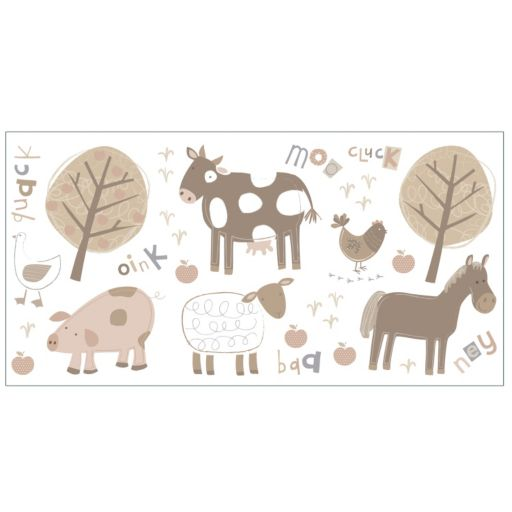 Farm Peel and Stick Wall Decals