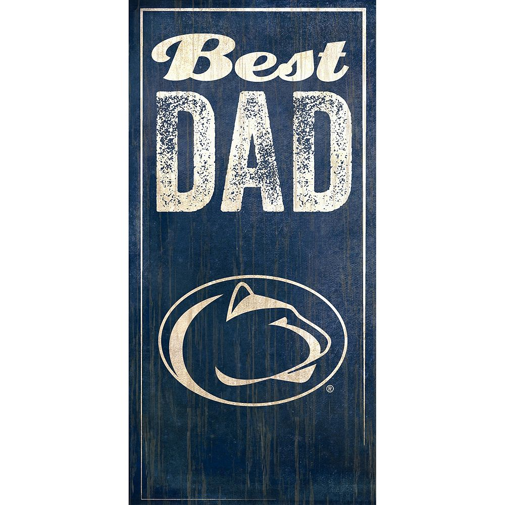 Penn State Nittany Lions Best Dad Sign