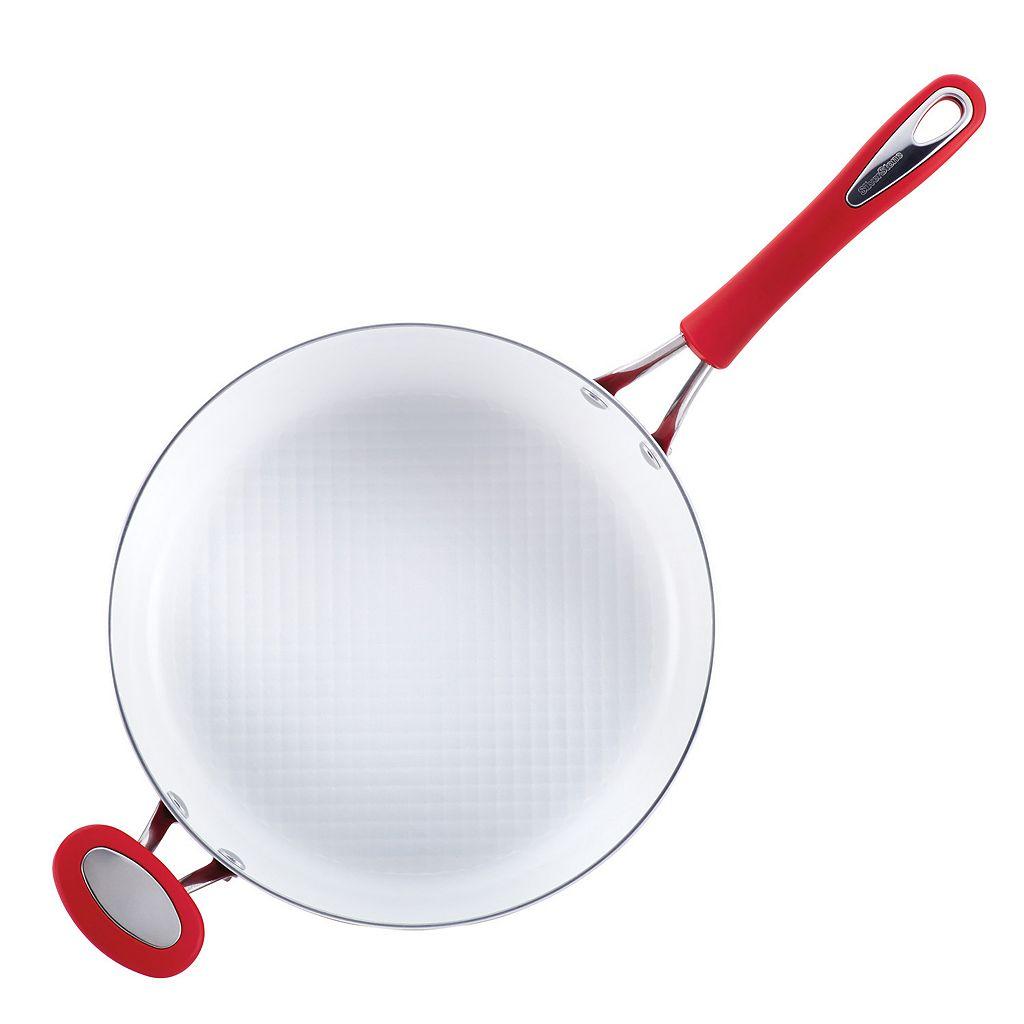 SilverStone 4-qt. Ceramic Nonstick Covered Saute Pan