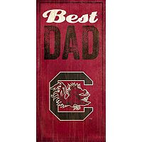 South Carolina Gamecocks Best Dad Sign