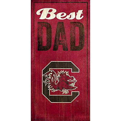 South Carolina Gamecocks Best Dad Sign