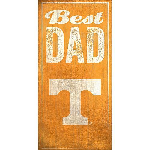 Tennessee Volunteers Best Dad Sign