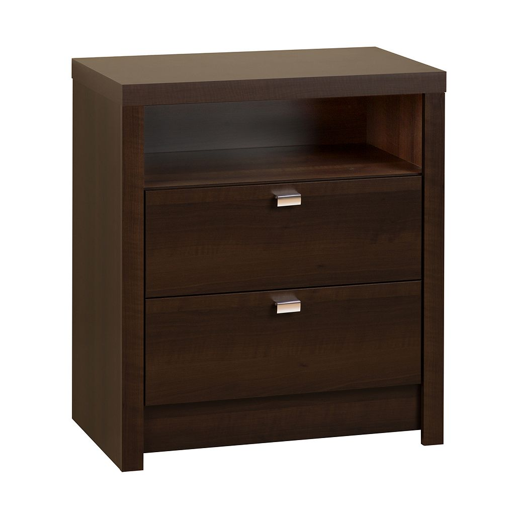Prepac Series 9 Designer Tall Nightstand
