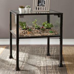 Southern Enterprises Henshaw Terrarium Side Table