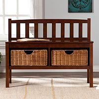 Southern Enterprises Storage Bench