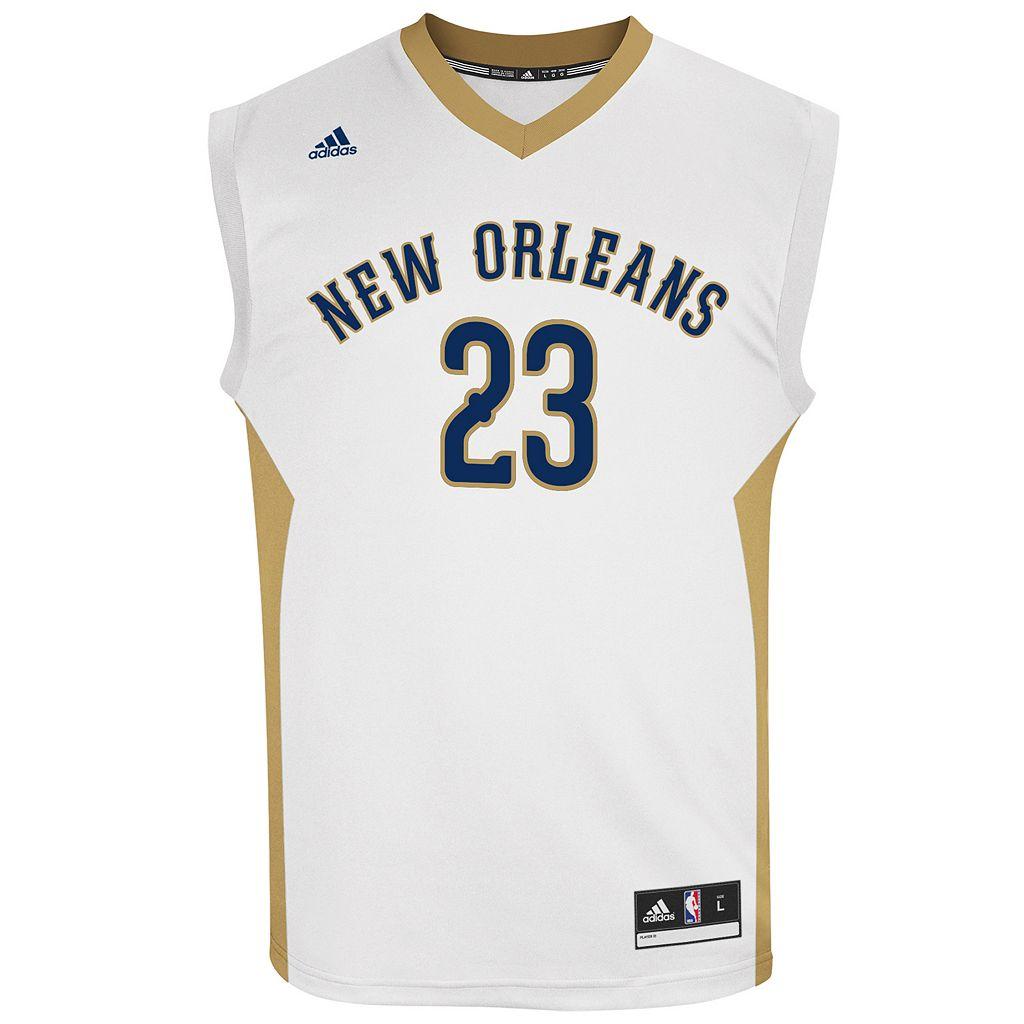 Men's adidas New Orleans Pelicans Anthony Davis NBA Replica Jersey