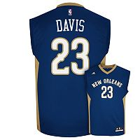 Men's adidas New Orleans Pelicans Anthony Davis NBA Replica Jersey