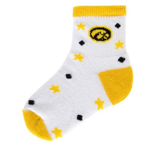 Baby Mojo Iowa Hawkeyes ''I'm a Star'' Cushioned Crew Socks