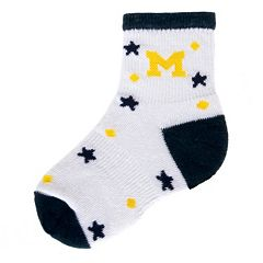Baby Mojo Michigan Wolverines ''I'm a Star'' Cushioned Crew Socks