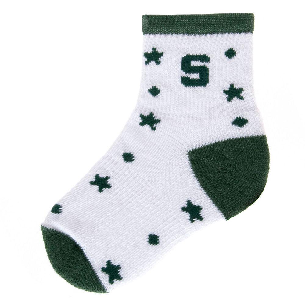 Baby Mojo Michigan State Spartans ''I'm a Star'' Cushioned Crew Socks