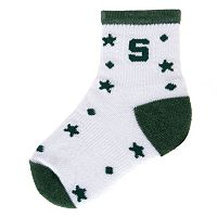 Baby Mojo Michigan State Spartans ''I'm a Star'' Cushioned Crew Socks
