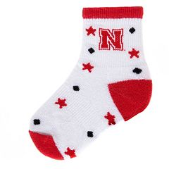 Baby Mojo Nebraska Cornhuskers ''I'm a Star'' Cushioned Crew Socks