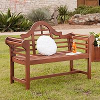 Southern Enterprises Outdoor Lyman Bench