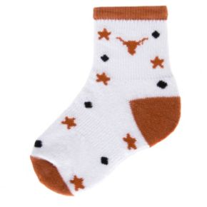 Baby Mojo Texas Longhorns ''I'm a Star'' Cushioned Crew Socks