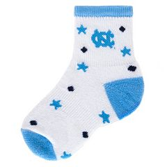 Baby Mojo North Carolina Tar Heels ''I'm a Star'' Cushioned Crew Socks